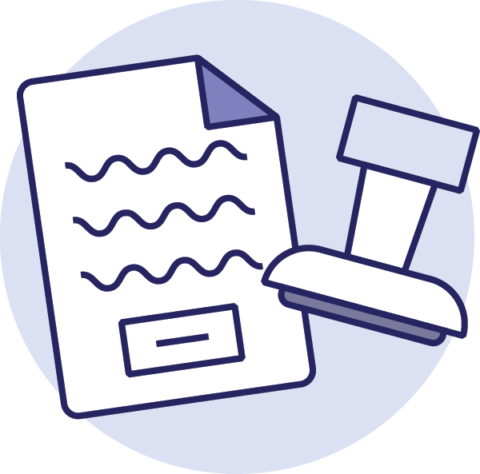 Illustratie Servicecontract